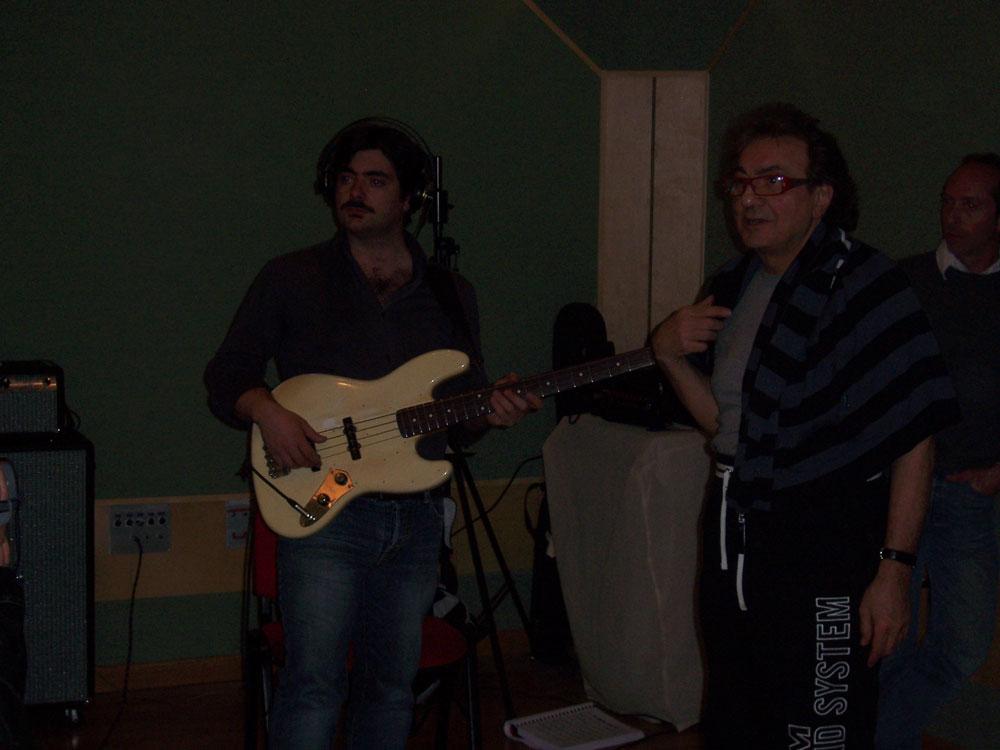 Tullio De Piscopo e Davide Costagliola