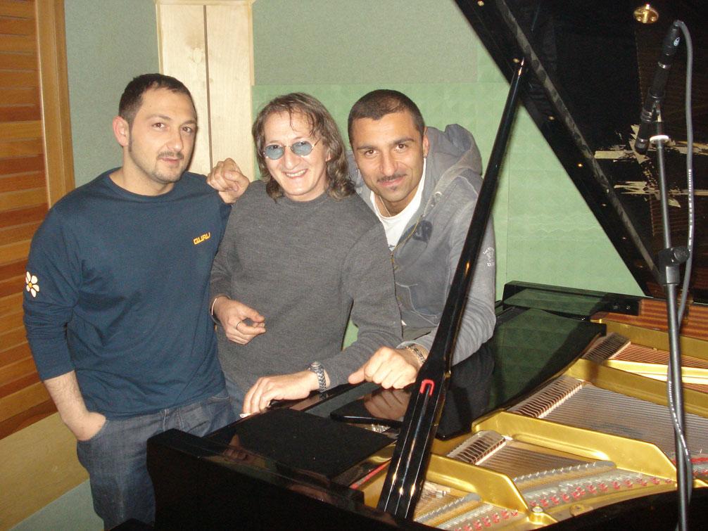 Joe Amoruso con i Mr.Hyde
